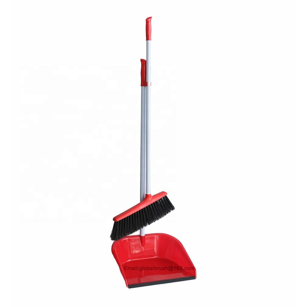 Item No.0802 hardwood floor cleaning broom and long handle dustpan set