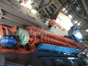 China Jiangxi Factory Screw Sand Wash Spiral Log Washer Iron Washing Machine