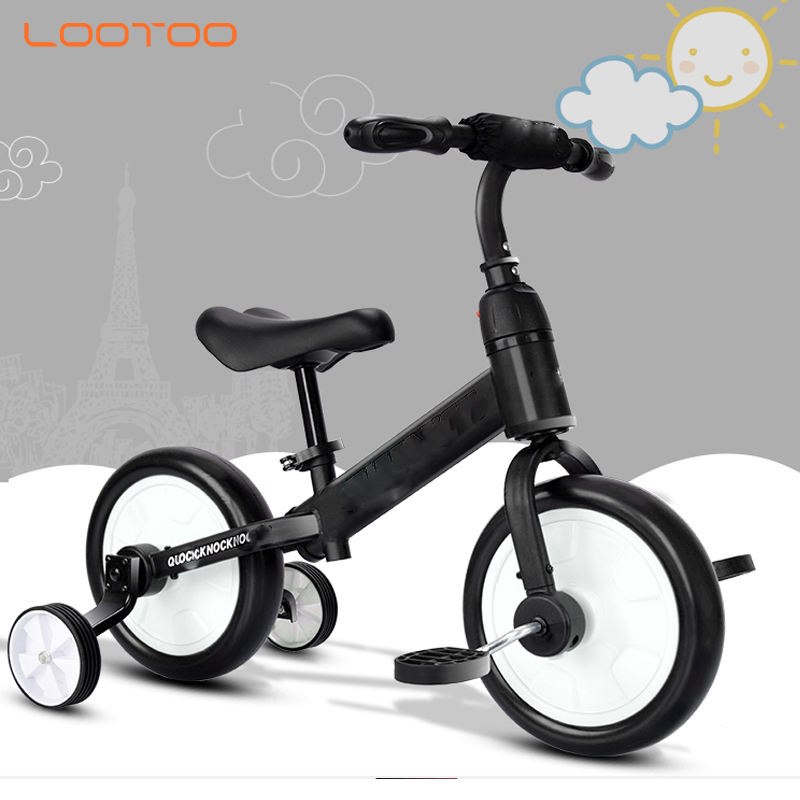 China factory custom made best price 12 inch blue cool youth boys tinny runner balance bike