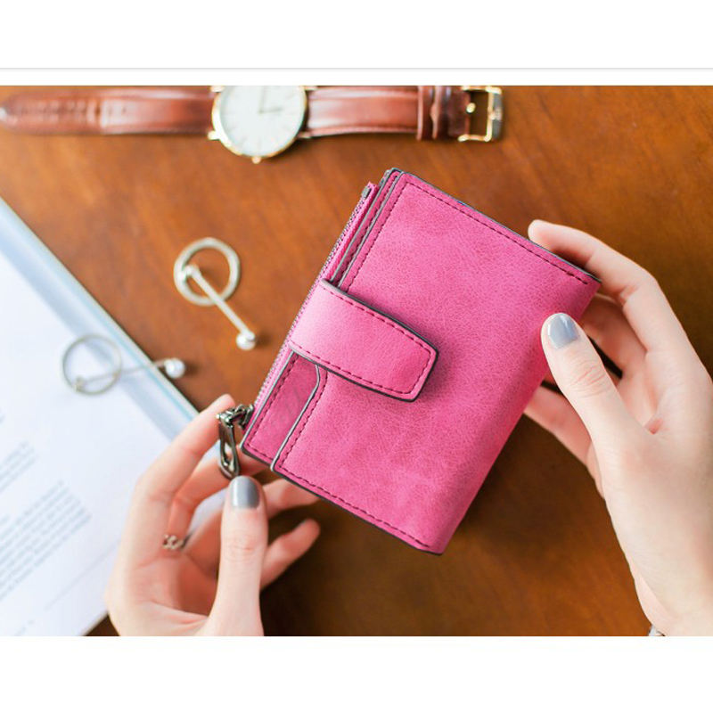 High security women fancy wallet purse wholesale
