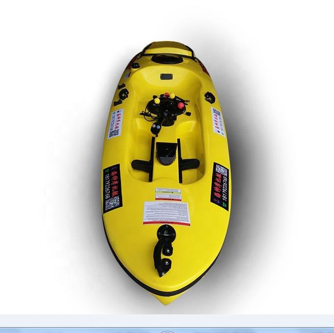 Sit on China 4 stroke engine motorized sea boat jet powered kayak with motor for sale Malaysia