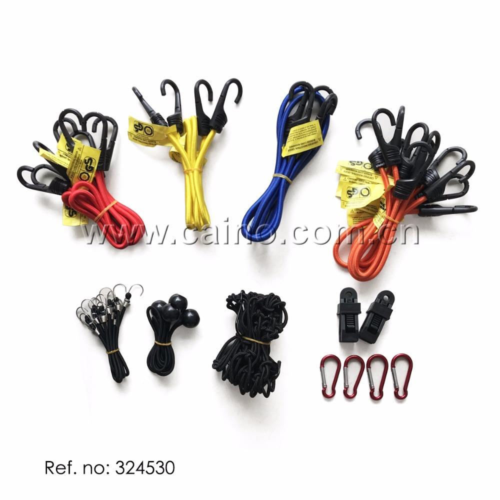 set of 31pcs baggage bungee cord kit