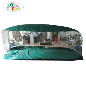 Inflatable green and transparent bubble car display capsule for sale, waterproof car cover