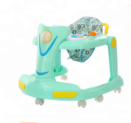 Baby king new model multi-function swuvel wheel baby walker with cheap price