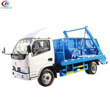 Buy 2 axles Sealed Garbage Truck 7cbm Refuse Vehicle 6cbm 5tons Swept-body Refuse Truck