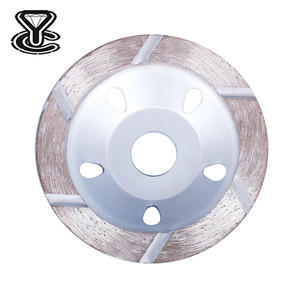 5 inch 7 inch star-type segment grinding/diamond cup wheels