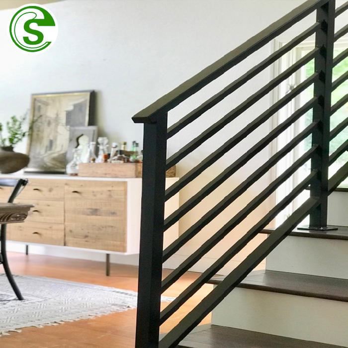 High quality metal used wrought iron stair rail