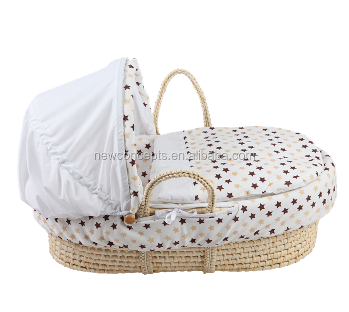New design popular promotion baby moses basket set bassinette