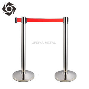 Aluminum Crowd Control Barriers Tape Stanchion For Bank For Canada Market