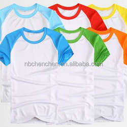Men's Round Neck Promotion Polyester T-shirt, T-shirt Sublimation