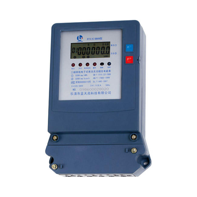 DTS8888 세 상 digital multi function wifi energy Meter (digital kWh meter, smart meter) 와 battery 및 push button