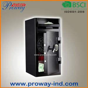 safety deposit box with electronic lock