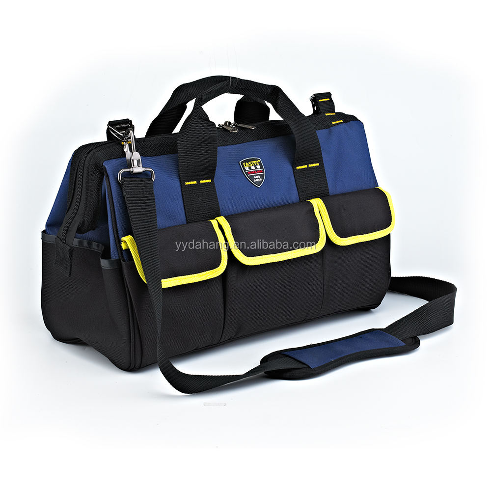 FASITE 600D Polyester Multi-functionele Medium Size Carrying Hand Elektrische Tool Tote Kit Bag PT-N003