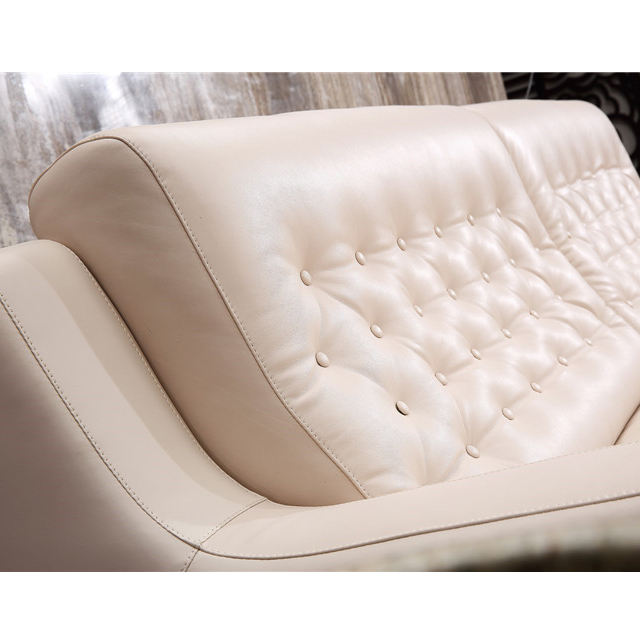 Fast delivery european modern furniture design 2 seater sofa, modern chesterfield executive leather sofa