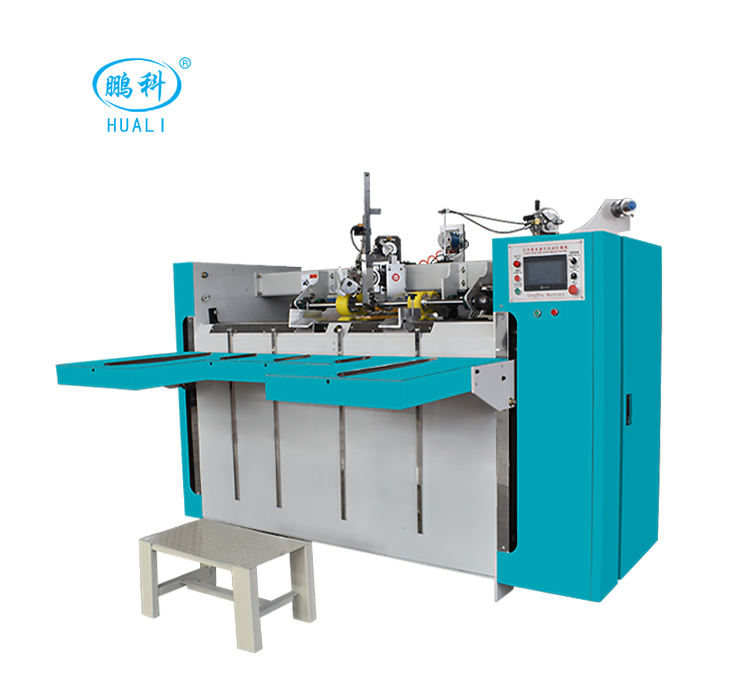 ONE-STOP SHOP corrugated carton box wire stitching making machine