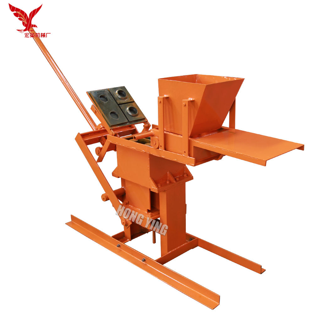 Eco brava interlocking manual brick machine price/2019 newest clay block making machine for sale