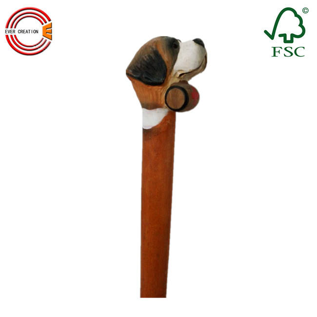 high quality wooden cane walking sticks for mountain climbing or for old people