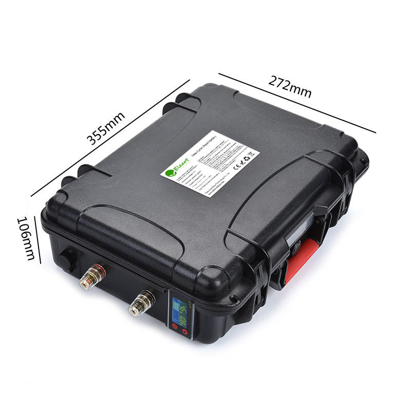 Hot sale 12v 24v 48v 100ah 120ah 150ah 200ah 300ah waterproof lithium battery pack for rubber boat/rubber dinghy