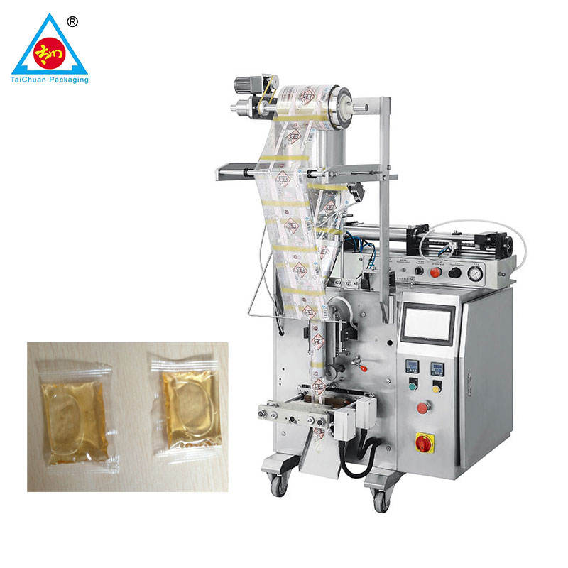 100% factory price liquid pouch packing machine water milk juice sachet form fill seal machine in business