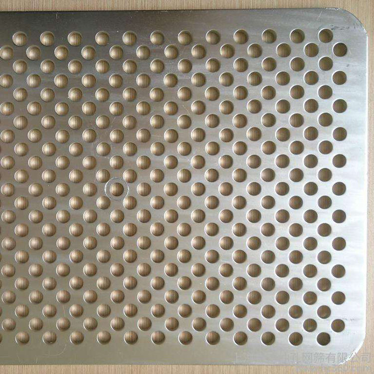 1mm hole galvanized hexagonal aluminum perforated metal mesh speaker grille sheet