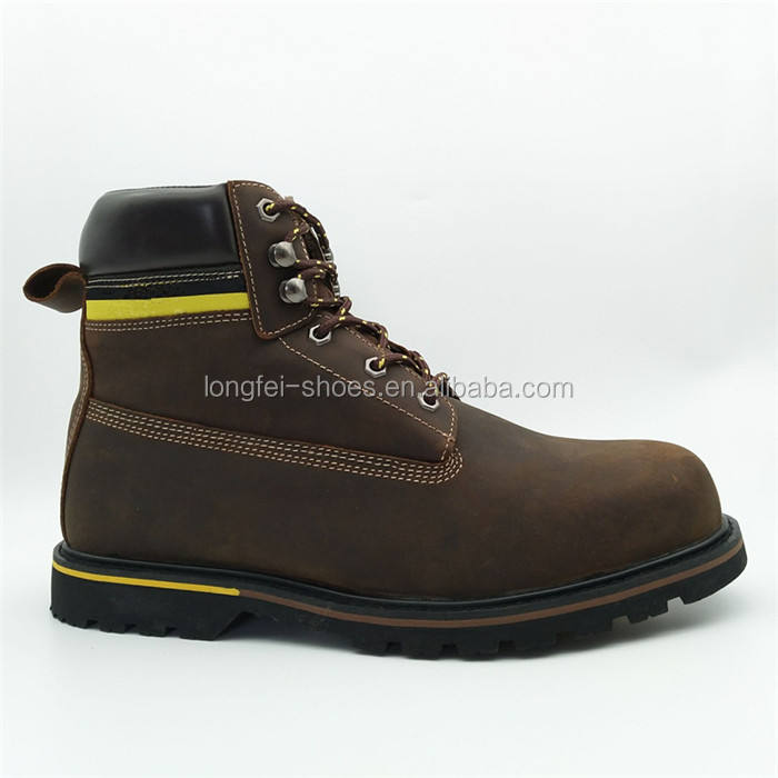 winter wholesale hard rubber sole warm leather china safety boots