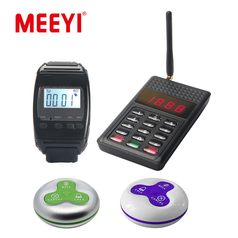 wireless waiter call system restaurant wireless service bell Y-A3-SR