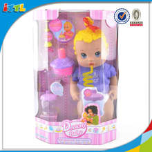2014 new function doll drinking, pissing, blowing candles and pipe bubble funny function doll