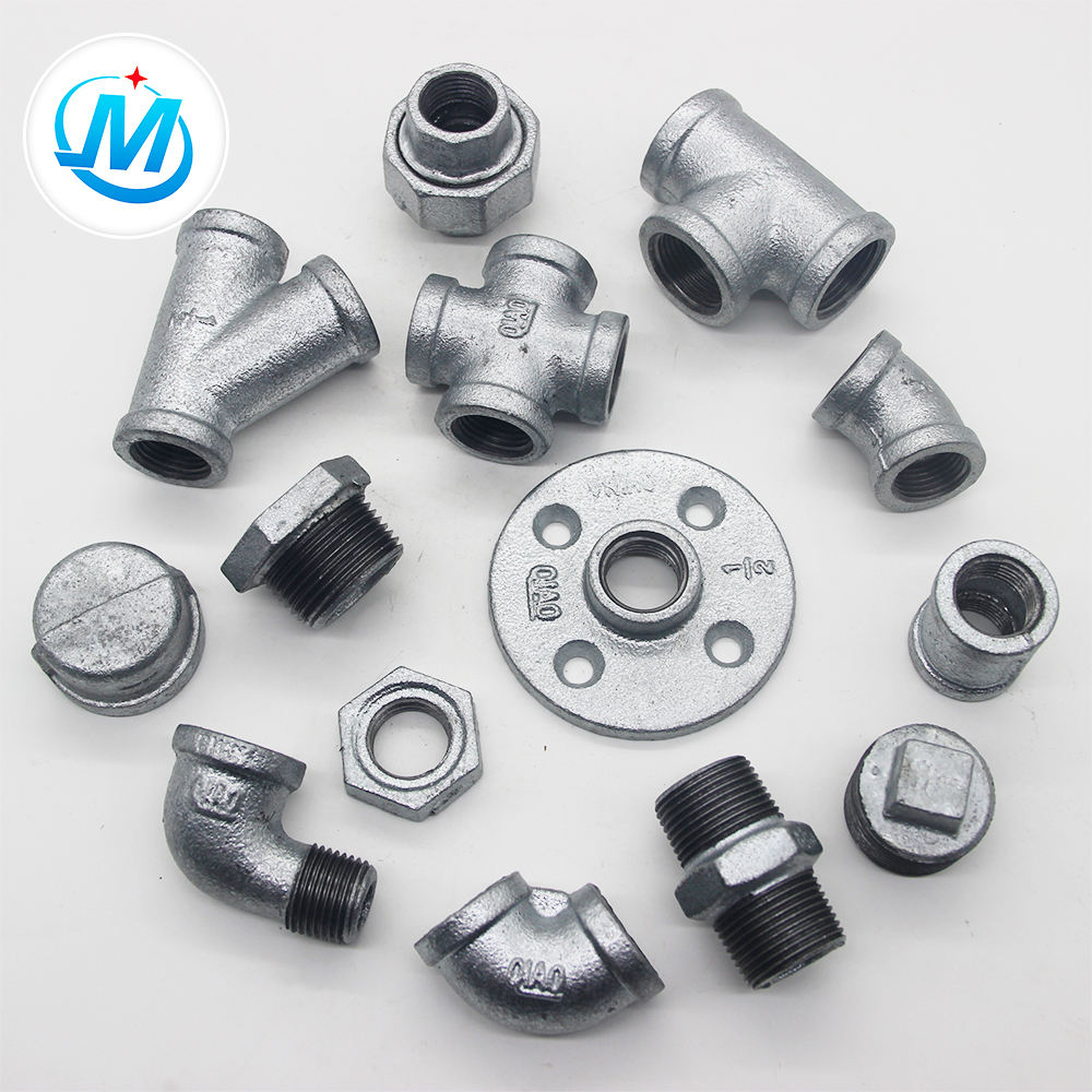 Pragmatic Hot Dipped Galvanized g i Malleable Cast Iron Pipe Fittings Used For Plumbing Materials