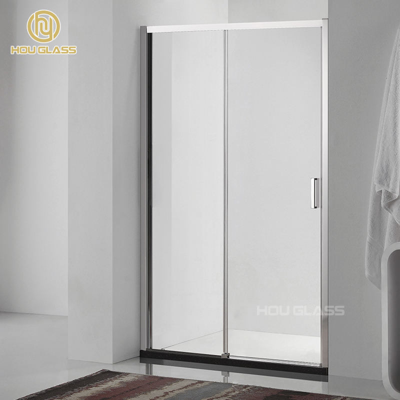 Swing Door Open Style Shower Enclosure Simple glass shower room enclosure