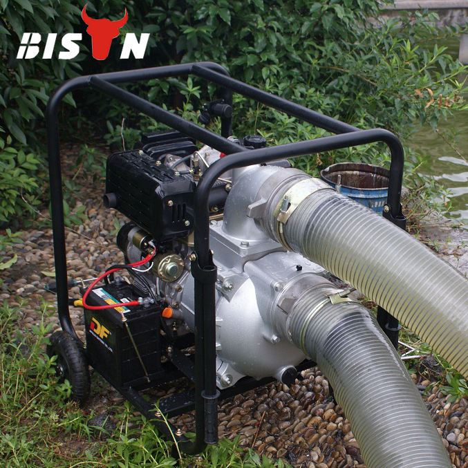 Price of 4 inch 6 inch 5hp Portable Diesel Engine Water Pump Set, 10 hp Farm Agricultural Irrigation Movable Water Pump