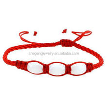 Handmade Kabbalah Bracelet, Good for Wealth and Love, Red String Bracelet