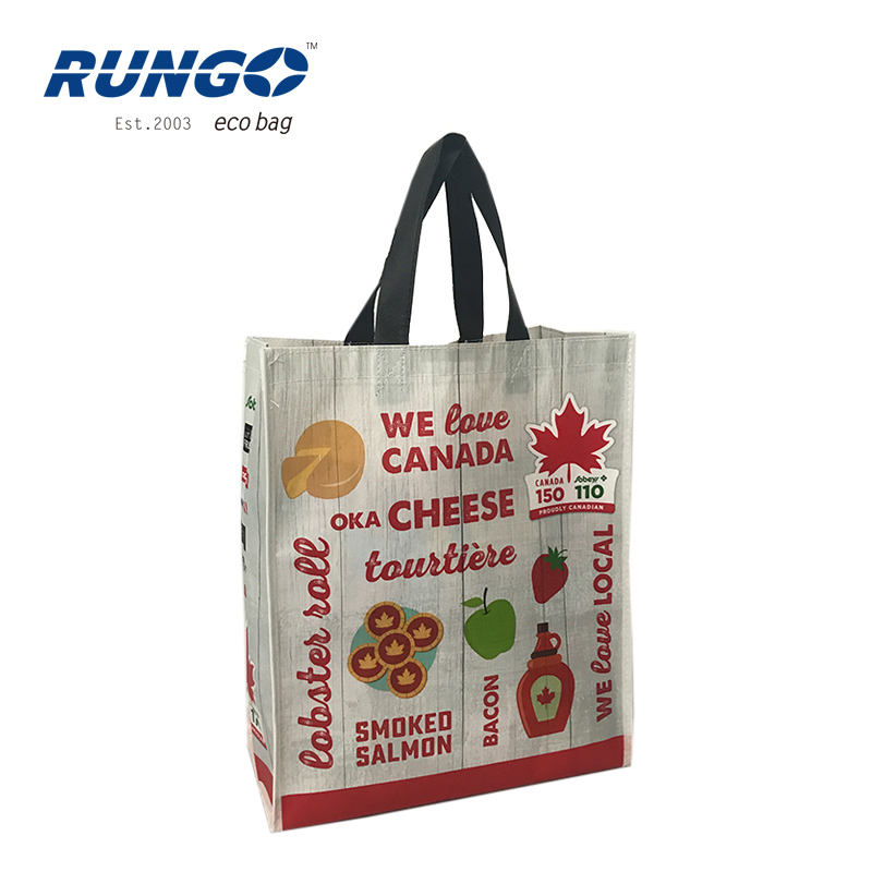 Eco Recycle Reusable Strong Borse Personalizzato Low Price Tnt Shopper Sac A Main Promotional Bag