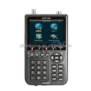 DIHAO Tech Sat Link Ws 6909 Satlink Ws6909 Digital Satelit Finder Meter
