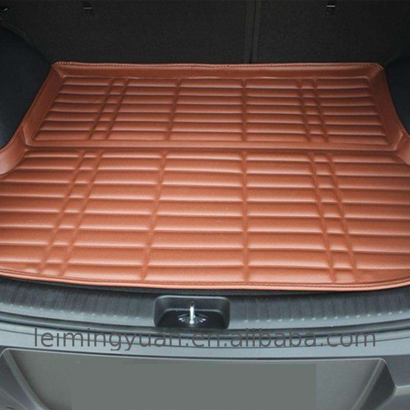 Factory direct selling skoda 5d pvc carpets trunk mat 3d dustproof car skidproof Low Price