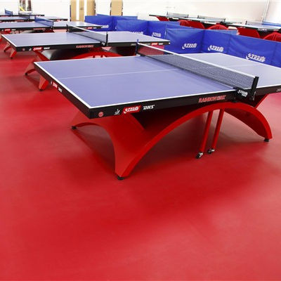 plastic pingpong sports indoor pvc floor/table tennis court flooring