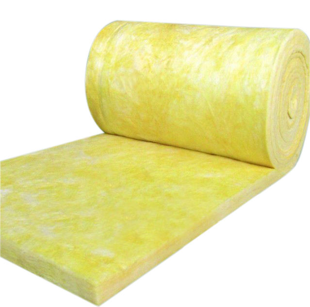 Fire Rated glasswool With CE blanket high quality thermal insulation soundproof glass wool