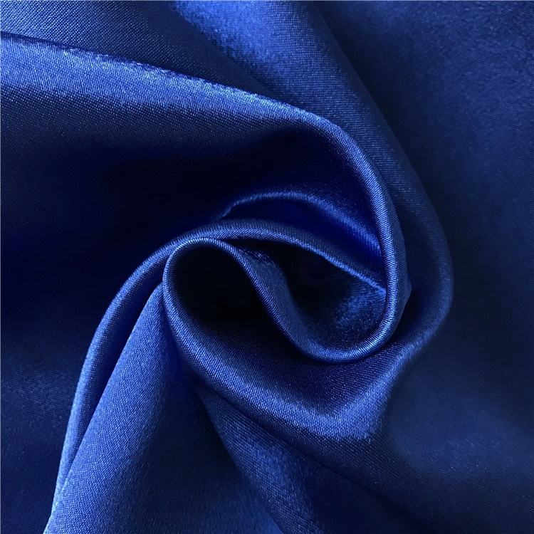 Broad width back crape satin stretch packing fabric