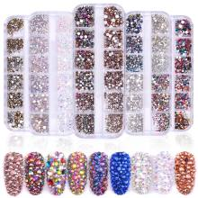 ShiningLife Brand best sell OEM rhinestone design New Fashion rhinestones  nail art