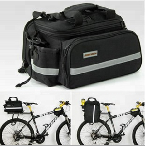 22023 City Folding Mountain Bicycle Bike Carrier Bag Cycling Rear Pannier