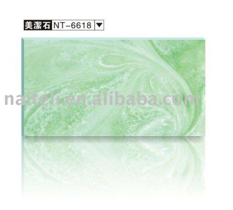 Decorative Resin list Translucent Materials