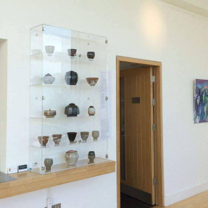 Acrylic Wall Mounted Display Cases for Models Collectables Museum Art Galleries
