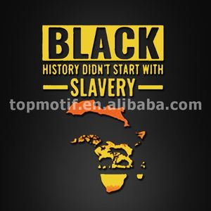 black history t shirt heat transfer printing