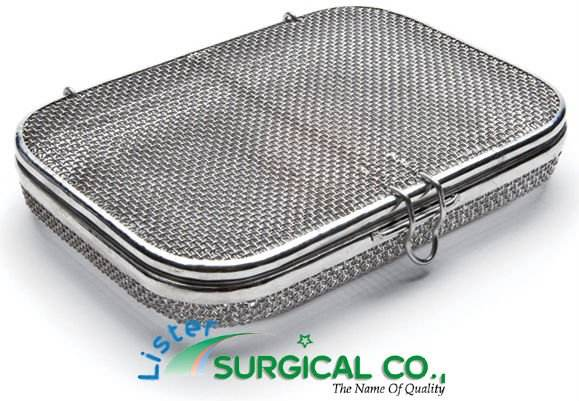 Micro Mesh Tray with Lid Sterile Processing Products