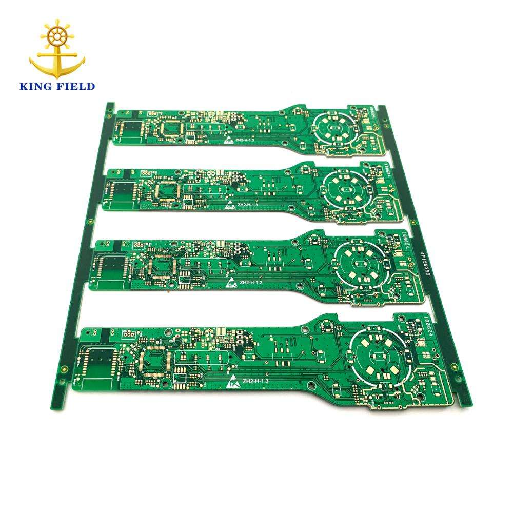Shenzhen professional manufacture pcb factory 4 layers multilayer NEWQI 10W 3 coils qi wireless fast charger pcb circuit board