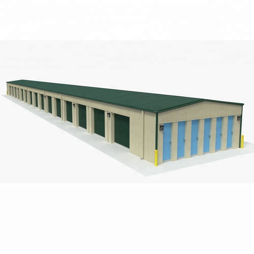 Steel Structure Galvanized Steel Garage