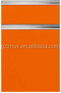 China alibaba supplier interior aluminum used kitchen cabinet doors cheap
