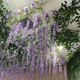 christmas arrangement stands party decorations cheap sale silk flower vine wedding flowers decoration artificial wisteria tree
