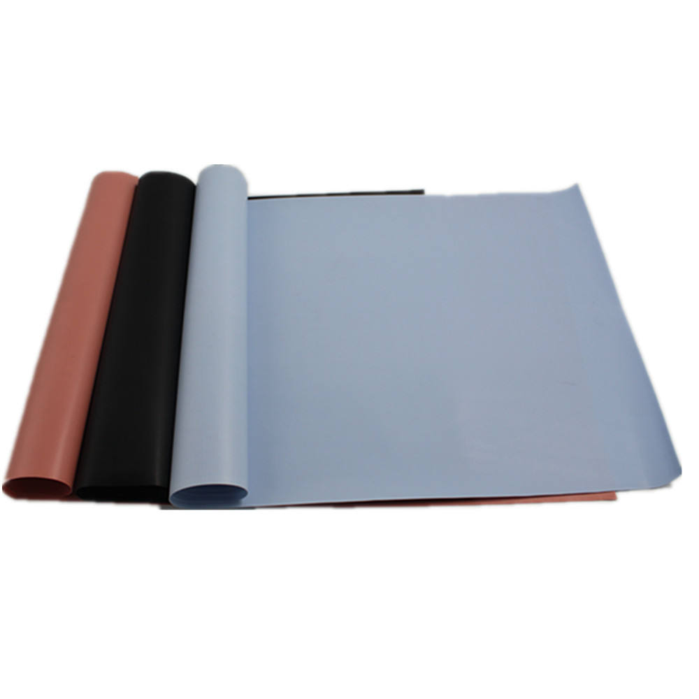 0.3 mm Heat Spreader Transfer Insulated Thermal Silicone Rubber Pad /Sheet