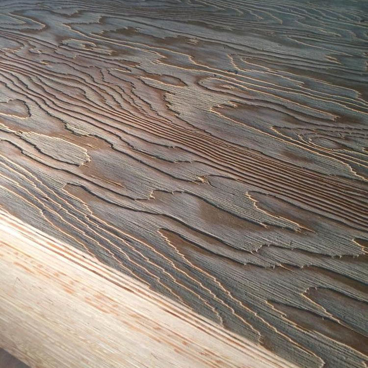 LINYI DUK Good quality LARCH PLYWOOD&EMBOSS LARCH PLYWOOD 4.5mm,7.5mm,11.5mm