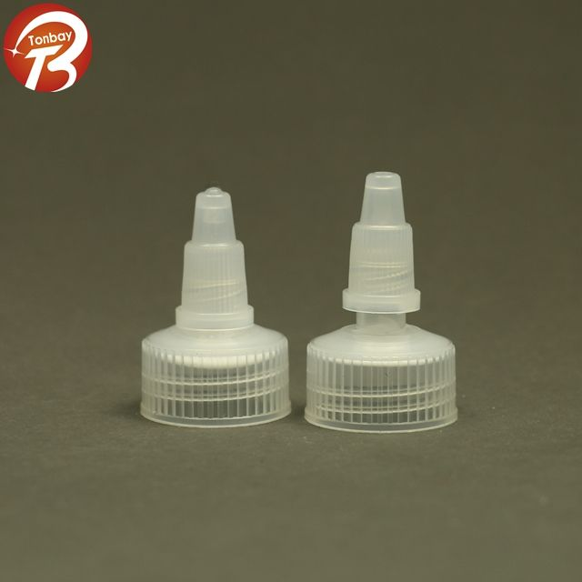 18mm 20mm 24mm 28mm push pull cap plastic twist off cap
